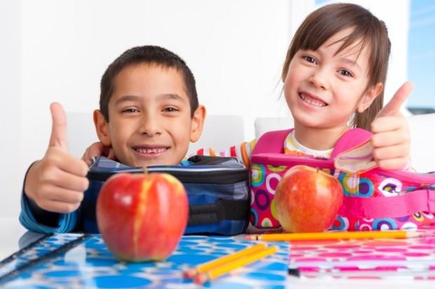 children back to school lunch