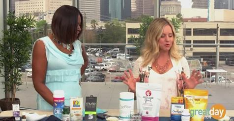 Women discussing natural remedies for spring